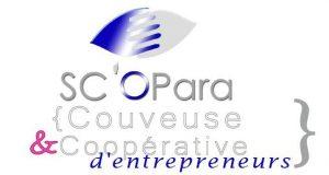 Le logo de la couveuse d'entreprises à Corse SC'OPara