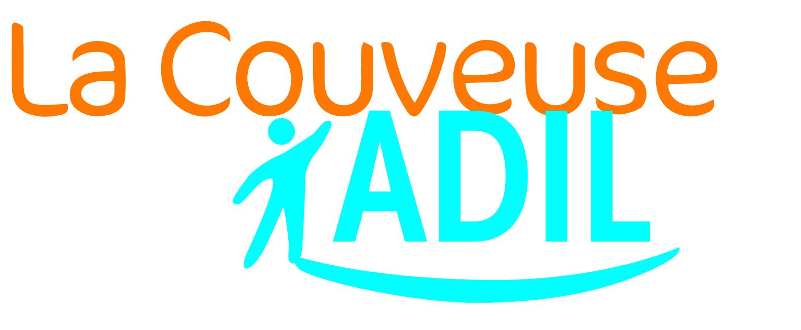 Le logo de la couveuse d'entreprises ADIL à Paris 14