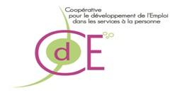 Le logo de la couveuse d'entreprises à Marseille qui accompagne des entrepreneurs dans les services à la personne CDE SAP