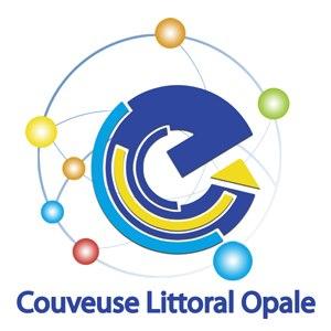 Le logo de la couveuse d'entreprises Littoral Opale à Boulogne sur Mer