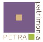 Le logo de la couveuse d'entreprises Petra Patrimonia à Corse