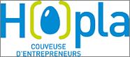 Le logo de la couveuse d'entreprises Hopla à Mulhouse