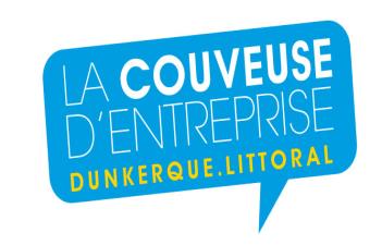 Le logo de la couveuse d'entreprises Dunkerque Littoral