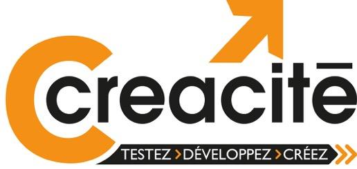 Le logo de la couveuses d'entreprises à Strasbourg Créacité