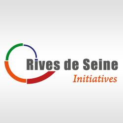 Le logo de Rives de Seine la couveuse d'entreprises francilienne 95